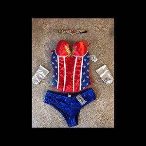 Wonder Woman Halloween Costume 🎃🦇🕸